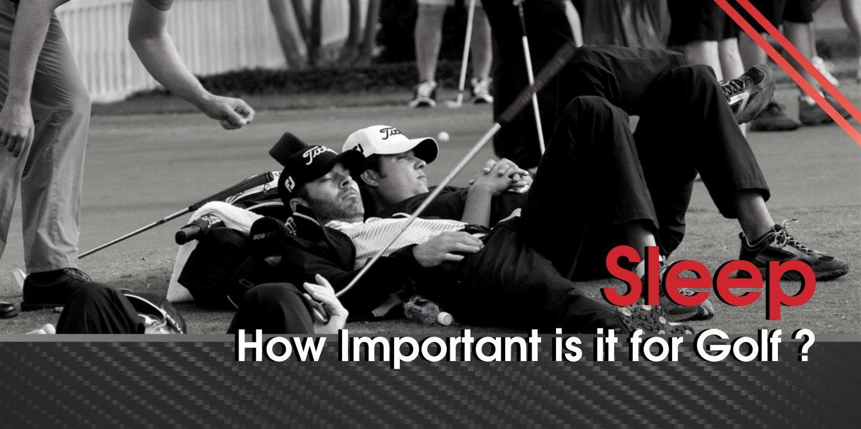 golfeurs qui dorment sur le terrain de golf
