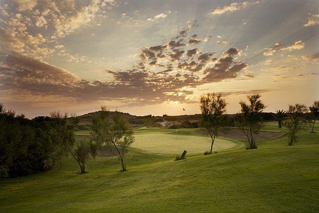 el sales top 10 golf courses Spain